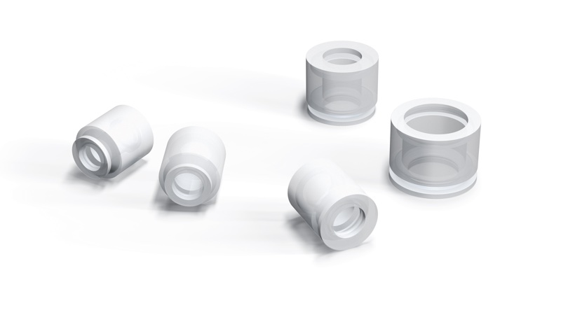 Special vacuum cups for the pharmaceutical sector