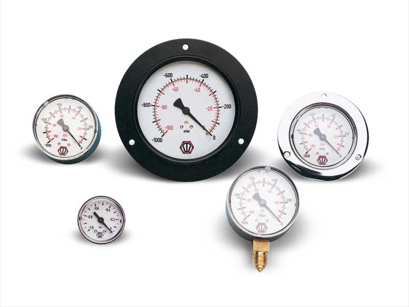 Vacuum and pressure gauges
