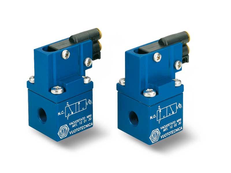 Mini pneumatic vacuum switches