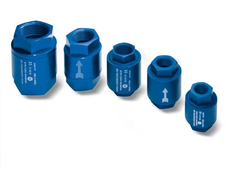 Membrane check valves