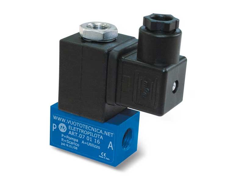3-Way vacuum solenoid pilot valves