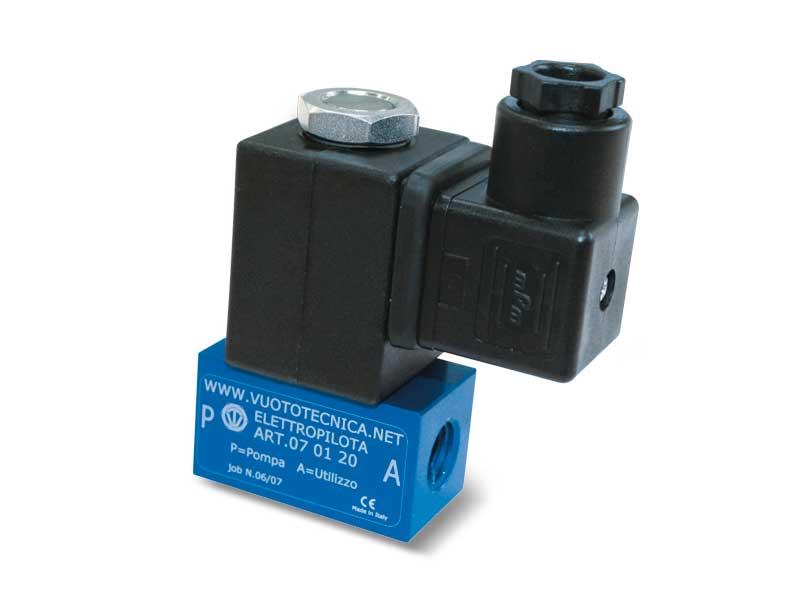 2-Way vacuum solenoid pilot valves