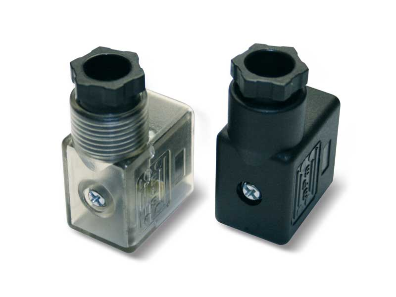 Solenoid valve accessories and spare parts - Electric coil connectors