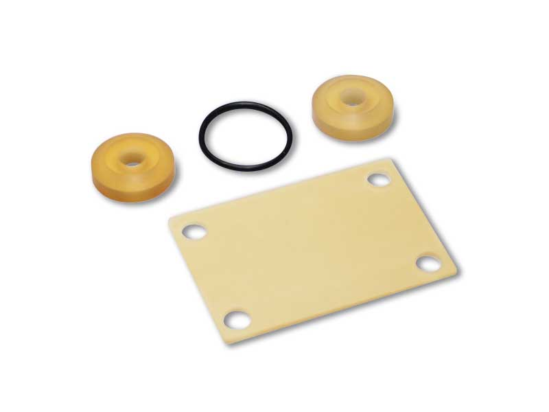 Sealing kit and pilot membranes for vacuum valves and solenoid valves