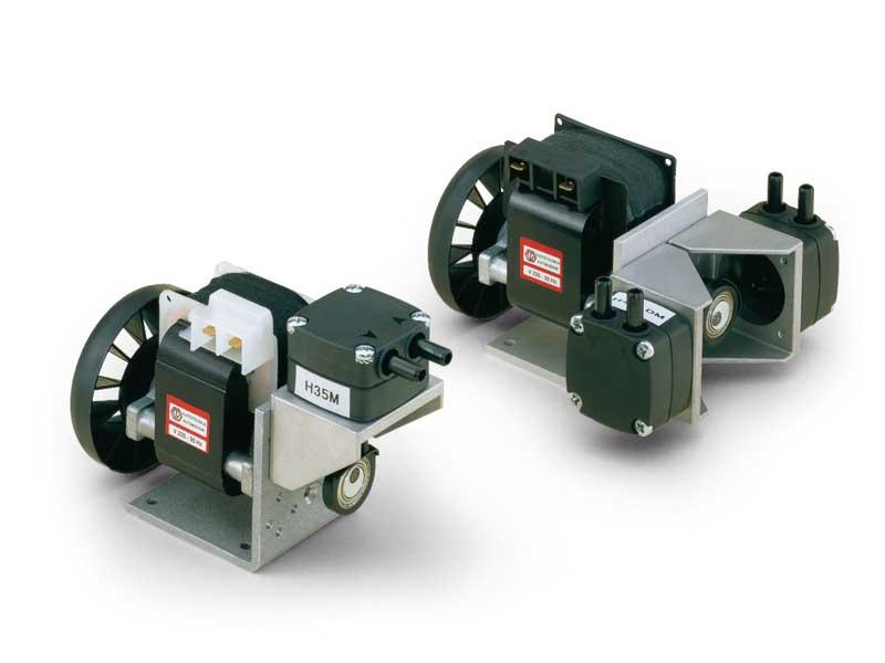 Membrane vacuum mini pump