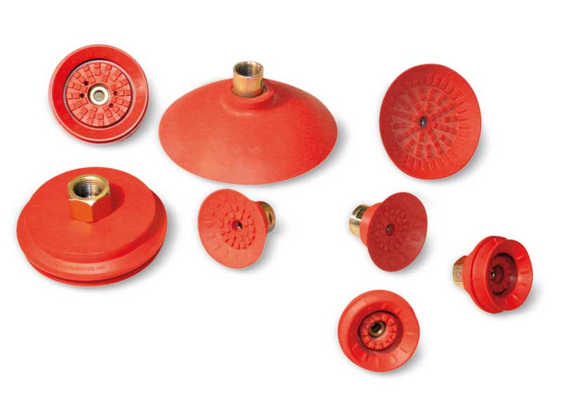 Circular flat and bellow Maxigrip Suction cups