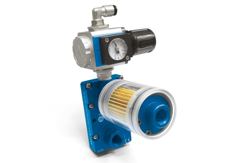 Small pneumatic blowing pumps PS
