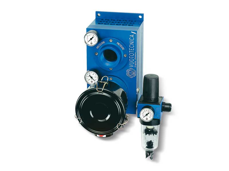 Pneumatic blowing pumps PS 250 and PS 300