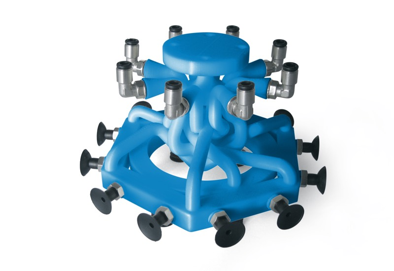 Special OCTOPUS gripping system products with 3D printer