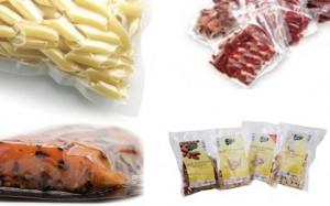 vacuum sealed food